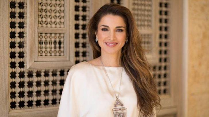 Cum arată Regina Rania a Iordaniei. Este foarte frumoasă