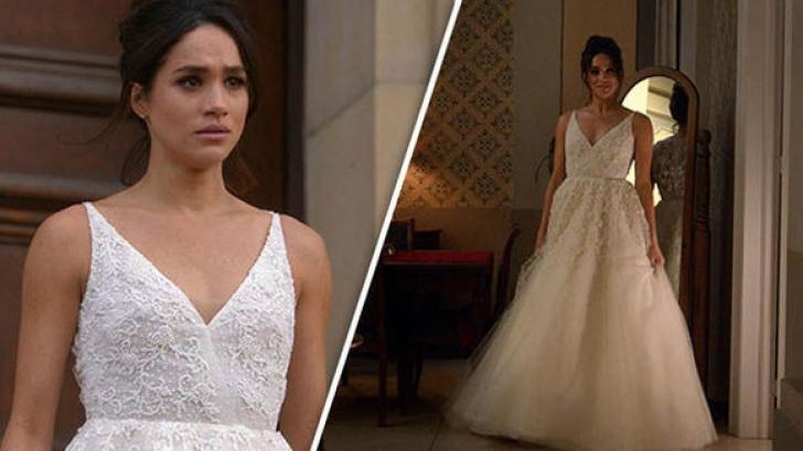 Cât costă rochia de mireasă a lui Meghan Markle. Mai sunt doar câteva zile până la nunta regală