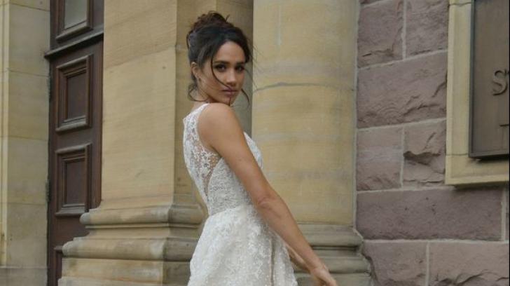 Rochie de mireasă Meghan Markle