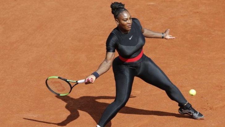 """Serena Williams la Roland Garros. Motivul secret pentru care Serena Williams a fost """"Catwoman"""""""