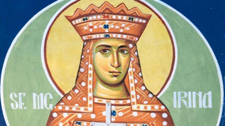 Sfanta Irina rugaciune