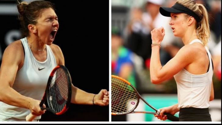 Simona Halep vs Elina Svitolina, azi de la ora 14.00