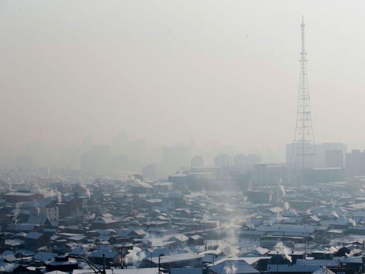Ulan Bator este cea mai poluată capitală a lumii