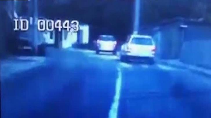Șofer băut și-a urmărit soția în trafic și i-a lovit mașina