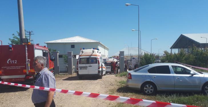Accident fatal la o stație de epurare din Brăila: Doi muncitori au murit înecați