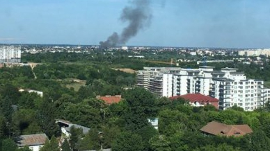 Incendiu în Bucureşti
