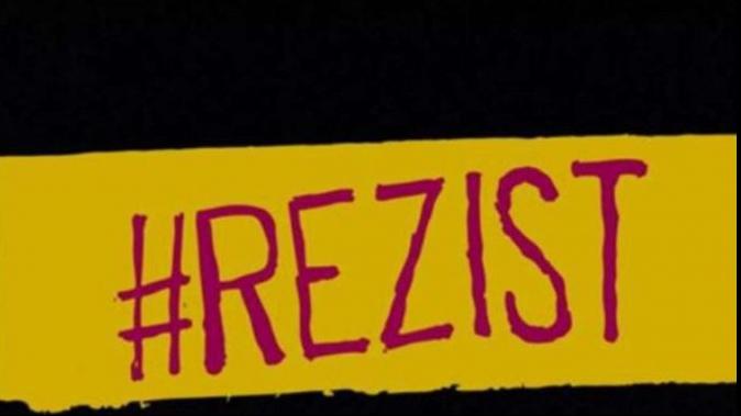 Protestele #rezist denigrate de trusturile media apropiate de PSD