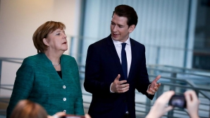 Angela Merkel și omologulaustriac Sebastian Kurz