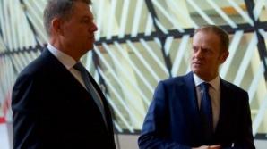 Iohannis îl contrazice pe Tusk