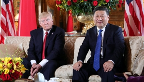 Donald Trump și președintele Chinei, Xi Jinping