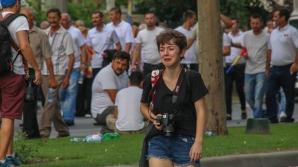 Fata care plânge la mitingul PSD