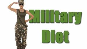 Dieta militară: slăbeşte 5 kilograme în 3 zile!