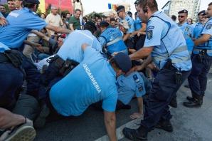 Proteste cu incidente