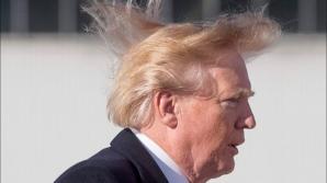 """Trump îşi laudă... părul: """"Acesta este unul din marile mele atuuri"""""""