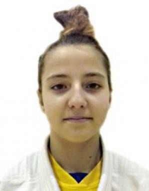 Georgia Hagianu, campioană europeană la Judo, la 40 kg