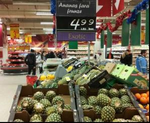 Ananas fără frunze, la preţ mic în supermarketuri. Ce îţi ascund, însă, comercianţii