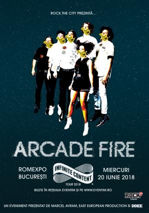 """ROCK THE CITY. Arcade Fire: """"David Bowie ne-a primit cu graţie şi căldură"""