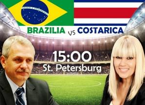 Avem și noi Mondialul nostru! Astăzi, Dragnea vs. Udrea, în duelul penalilor!