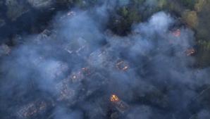 Alertă: Incendiu la Cernobîl, în apropiere de reactorul care a explodat în 1986