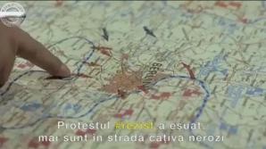 Print-screen-uri din clipul promovat de PSD
