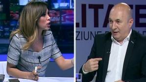 """Dispută aprinsă între Denise Rifai şi Codrin Ştefănescu: """"Tăiaţi-mi ce vreţi, nu numai microfonul"""""""