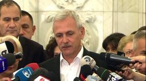 """Dragnea:""""Îmi cer iertare miilor de români care stau în puşcărie pe baza unui art. neconstituţional"""""""