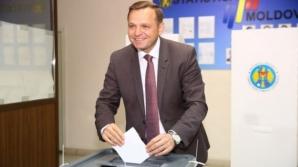 Andrei Năstase, ales în funcţia de PRIMAR al Chişinăului - rezultate parţiale
