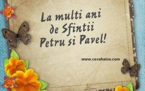 Mesaje Petru si Pavel 2018