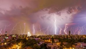 ALERTĂ METEO. Capitala, sub COD GALBEN de ploi şi vânt