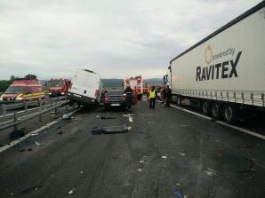 Accident cumplit la Sibiu