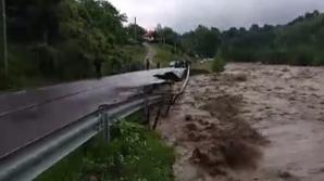 IMAGINI de coşmar. Inundaţiile au făcut ravagii în întreaga ţară