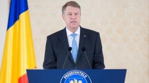 Klaus Iohannis: Drapelul este unul dintre cele mai puternice simboluri naţionale