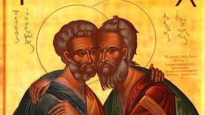 Sfinţii Apostoli Petru şi Pavel. Când începe postul celor doi stâlpi ai bisericii creştine