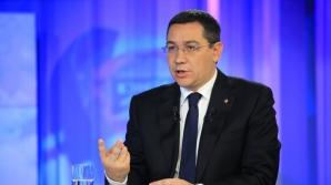 """Victor Ponta: """"Nu s-a constituit o alternativă serioasă, eşecul moţiunii de cenzură e evident"""""""