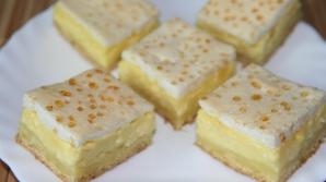 Prăjitura perfectă pentru zilele de vară. Răcoroasă şi delicioasă. Reţeta din caietul bunicii
