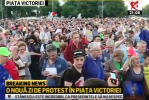 Proteste în Piața Victoriei şi în ţară. Mii de oameni acuză asaltul Puterii asupra Justiției