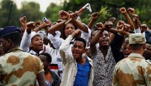 ATENTAT în Etiopia, în timpul discursului premierului: un mort, peste 150 de răniţi / Foto: Africa News