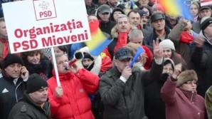 Manifestanții PSD vor folosi parcările Parlamentului României