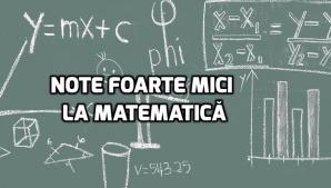 Note foarte mici la matematică după publicarea primelor rezultate la Evaluare Nationala 2018