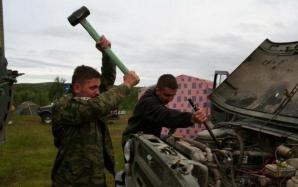 O zi obișnuită în Rusia