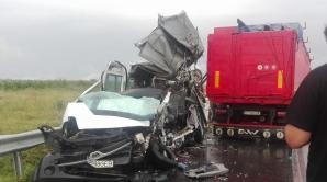 Accident rutier grav: două persoane au decedat şi 5 au fost rănite în judeţul Brăila