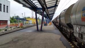 Un tânăr se află în stare gravă după ce s-a urcat pe un tren și s-a electrocutat