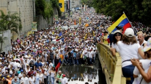 Proteste reale anti-guvernamentale în Caracas, Venezuela
