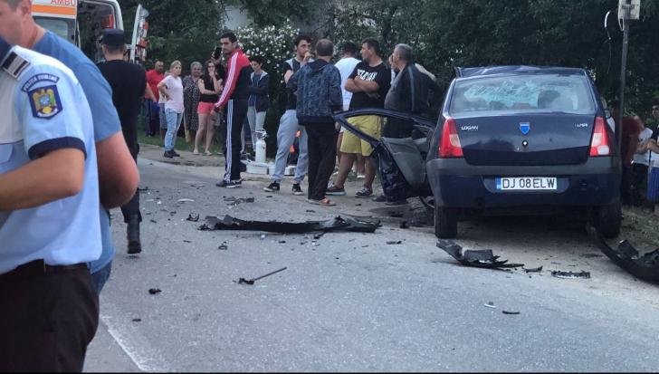 Accident grav în Olt