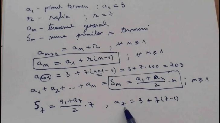 Bac 2018 matematica - progresie la M1