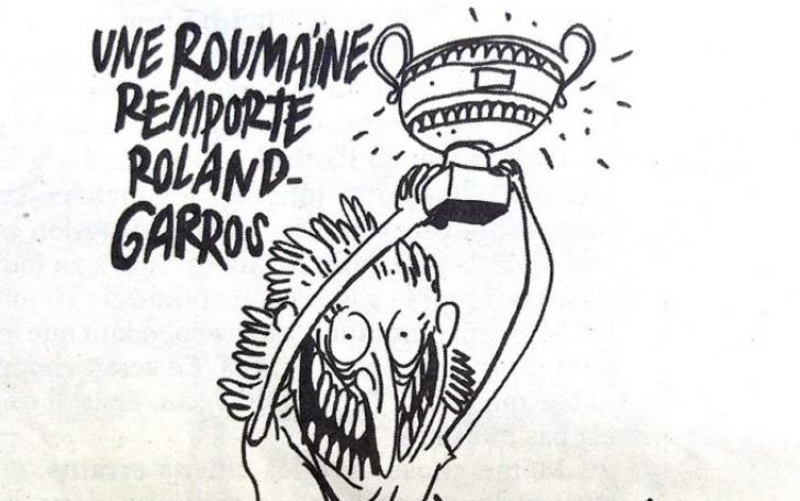 Răspunsul acid al Charlie Hebdo după furia românilor în cazul caricaturii cu Simona Halep