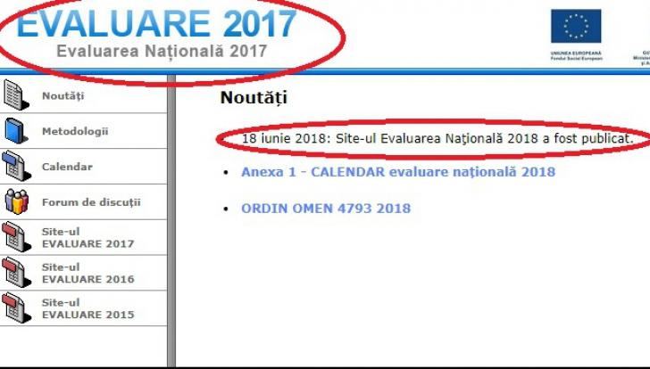 galerie foto rezultate evaluare nationala 2018
