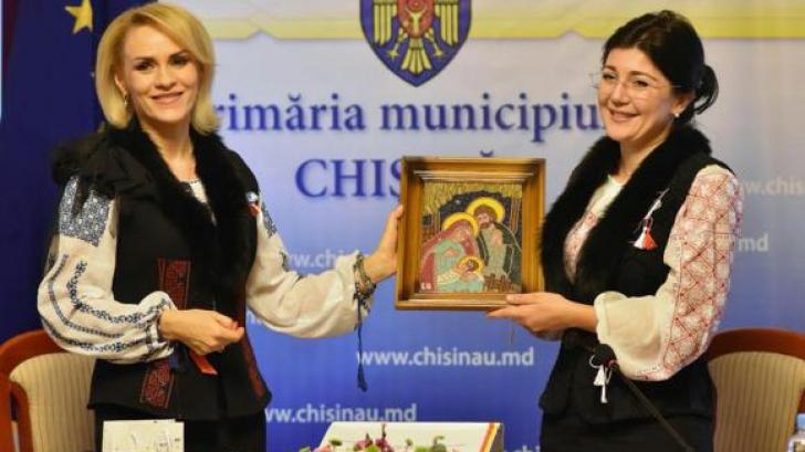 Gabriela Firea a susținut-o pe Silvia Radu la Chișinău