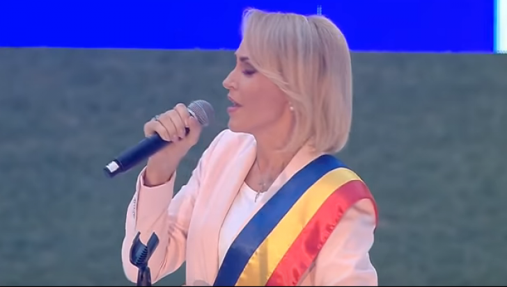 Gabriela Firea, huiduită la Arena Națională