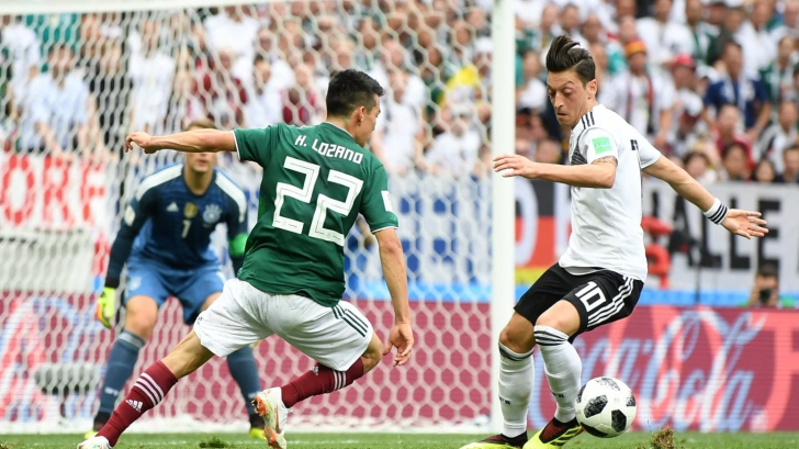 Germania - Mexic 0-1. Foto: fifa.com